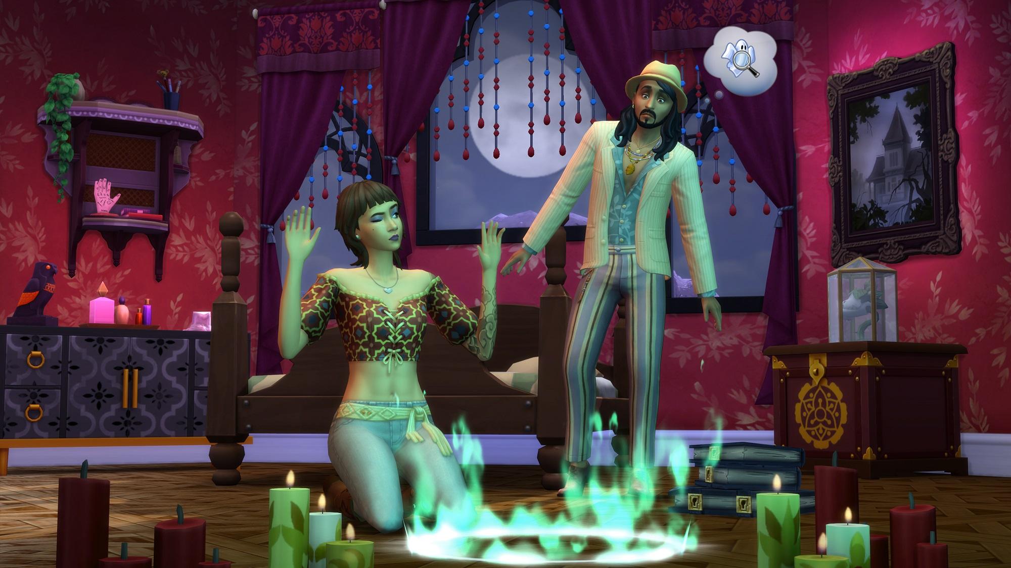 Les Sims 4 Paranormal sortira le 26 Janvier prochain