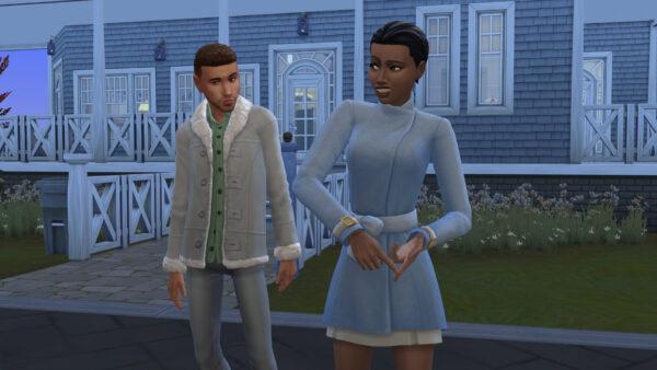 La compétence charisme des Sims 4