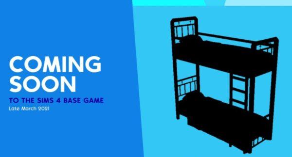 Les lits superposés vont faire leur retour dans Les Sims 4