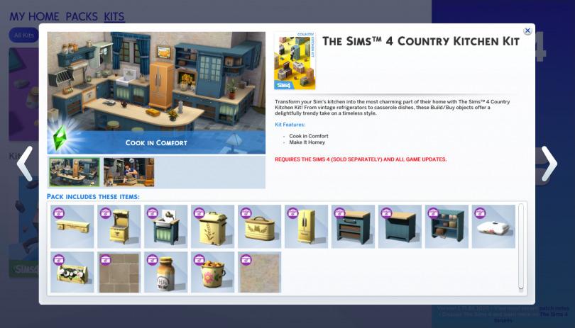 Les ensembles du Store de retour chez Les Sims 4 ?