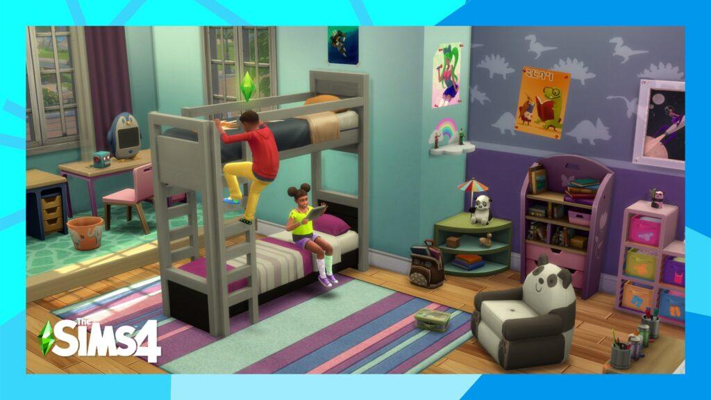 Les lits superposés arrivent ce mardi dans Les Sims 4