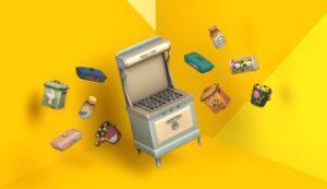 Zoom sur le kit Les Sims 4 Cuisine Rustique