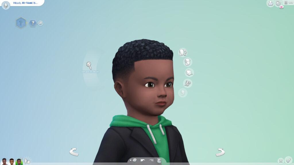 Des traits revus, des coupes améliorées et des lits superposés dans Les Sims 4