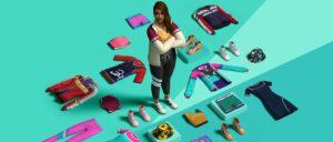 Zoom sur le kit Les Sims 4 Look Retro