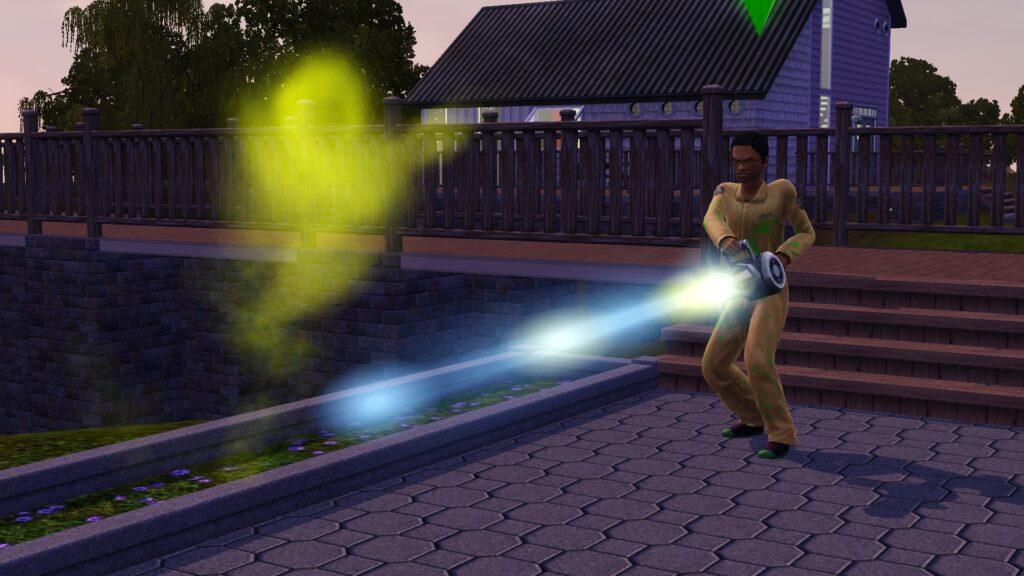La carrière de chasseur de fantôme avec Ambitions