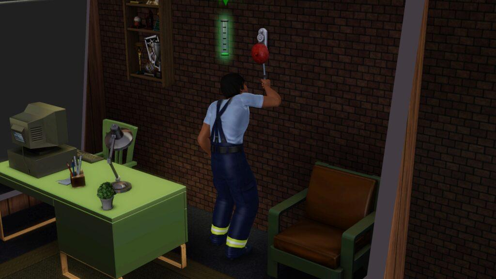 Les pompiers dans Les Sims 3 Ambitions