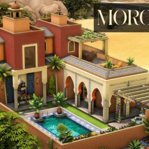 Maison de rêve marocaine
