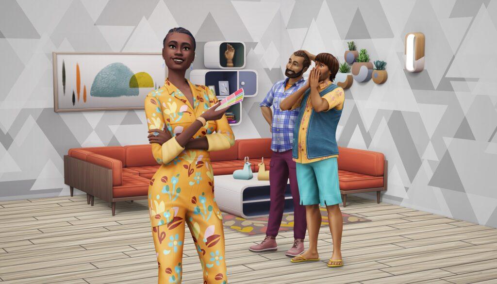 Le pack Sims 4 Décoration d'Intérieur sortira le 1er Juin
