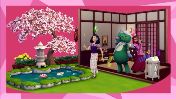 Du contenu d'inspiration japonaise dans la nouvelle mise à jour des Sims Mobile