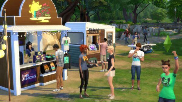 Un festival de musique chez Les Sims 4 à partir du 29 Juin