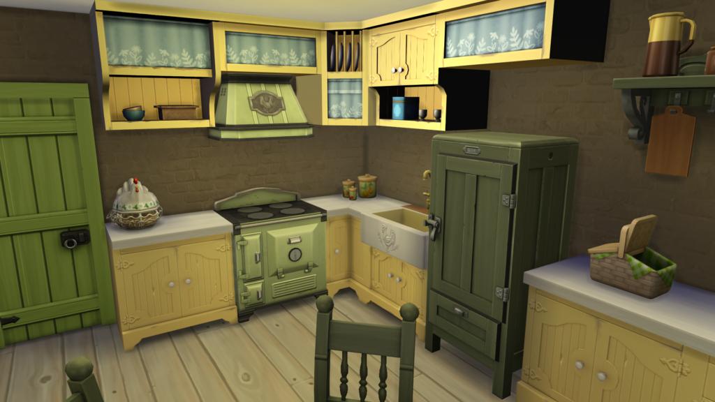 Les nouveautés du mode Construction des Sims 4 Vie à la Campagne