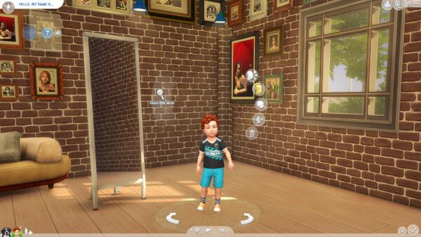 Fond Sims 2 pour le Créer Un Sims 4
