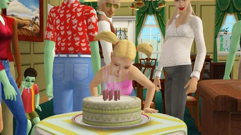 L'histoire du gâteau d'anniversaire