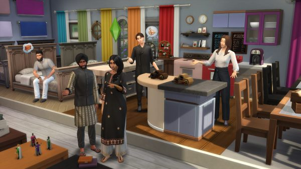 1200 nouveaux coloris d'objets dans la nouvelle mise à jour des Sims 4