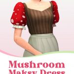 Robe Mushroom Maksy