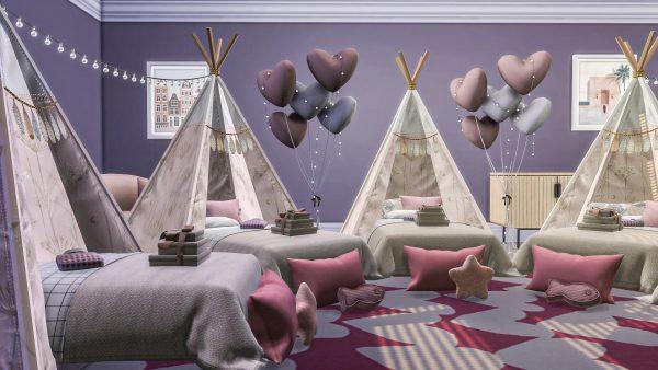 KawaiiFoxita & Les Sims 4 CC Décoration intérieure