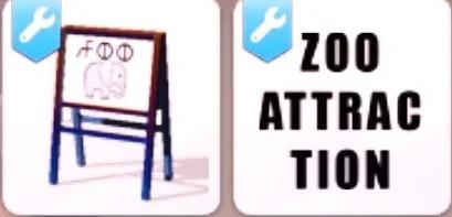 Un zoo et un Salon de tatouage pour vos Sims
